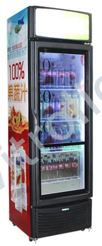 49-inch, 32-inch transparent LCD freezer-Shanghai World Expo Exhibition & Convention Center