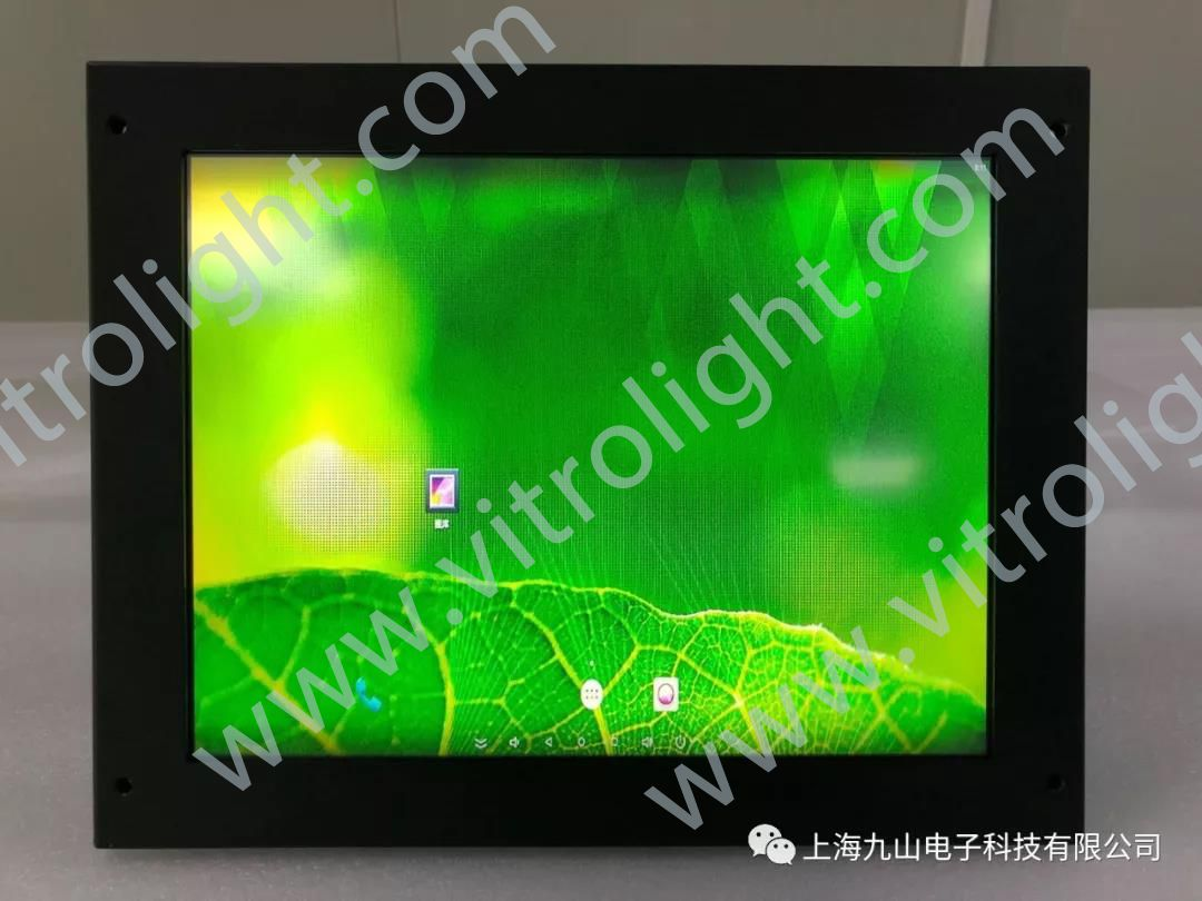 12.1 inch touch screen-light rail cab monitoring screen
