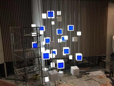 Quadrate LCD suspension case