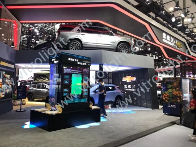Guangzhou Auto Show Transparent OLED 1×2 Project