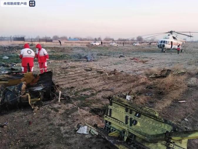 乌克兰一波音737客机发动机故障...