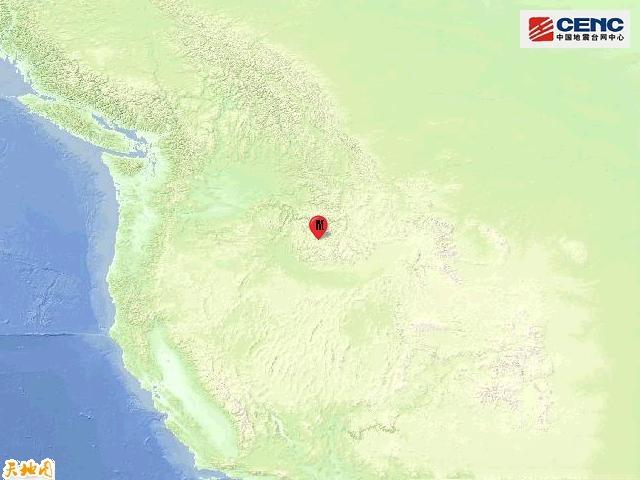 美国爱达荷州发生6.6级地震