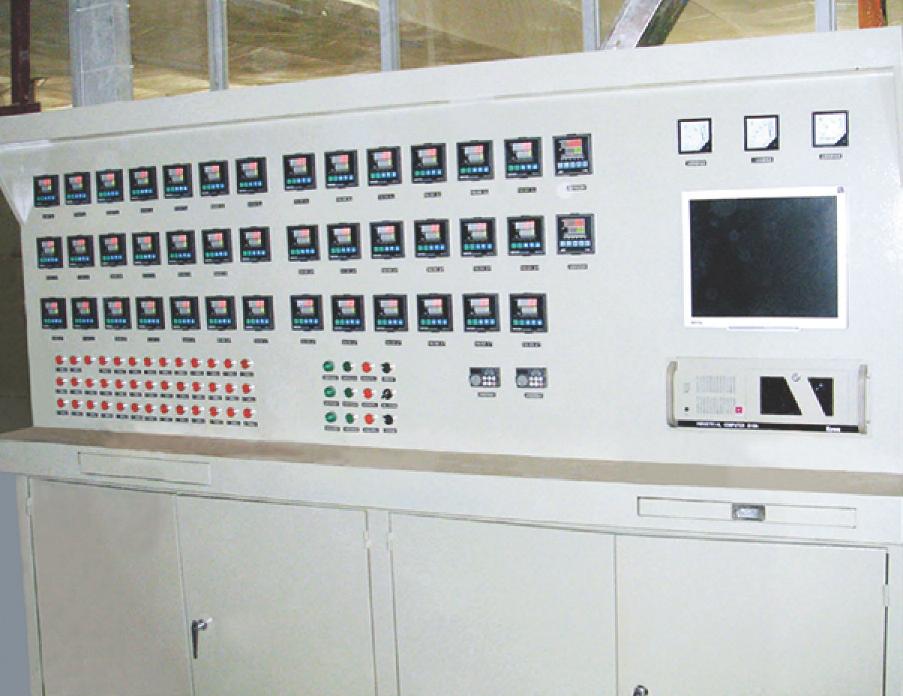 陶瓷隧道炉控制系统