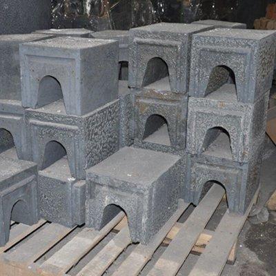 熔铝熔铜竖炉碳化硅U型导流砖