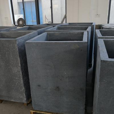 方形电池负极材料碳化用碳化硅坩埚