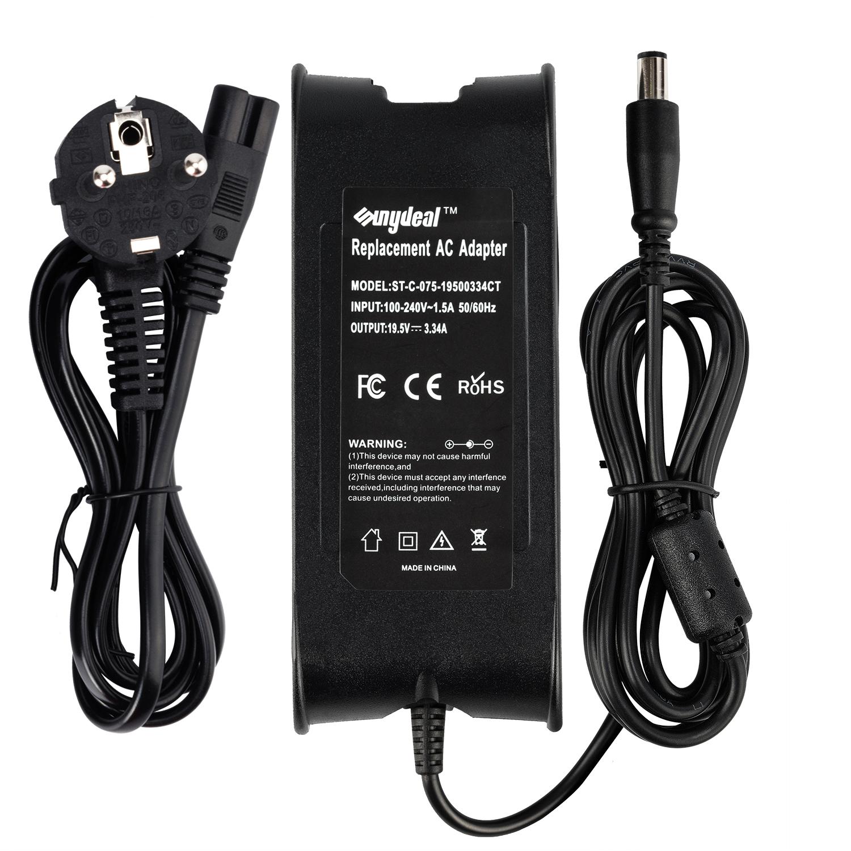 SUNYDEAL Chargeur 65W Adaptateur Secteur PC Portable pour Dell 7.4*5.0mm, Model: ST-C-075-19500334CT