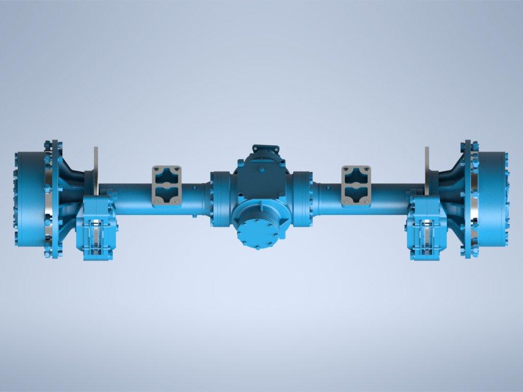 GQQ1514裝載機驅動橋