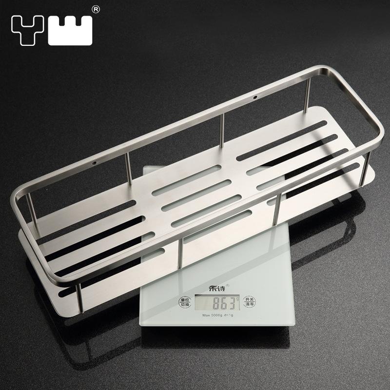 304 stainless steel bathroom shelf