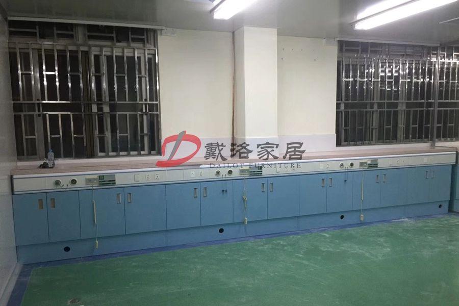 天蓝色医院多功能储物柜合作案例