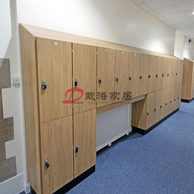 學校學生柜書包柜貼壁式儲物柜帶掛鎖儲物柜