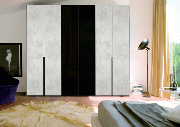 超哑光肤感UV云石木纹色衣柜橱柜全屋定制衣柜卧室家具免费设计出图
