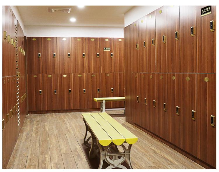 更衣柜储物柜配智能锁专供健身房瑜伽馆学校