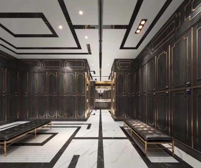 木质浴室储物更衣柜健身房游泳馆瑜伽室储物柜洗浴中心感应锁衣柜