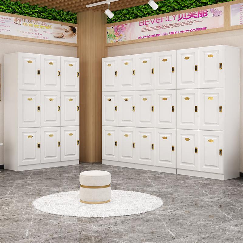 佛山木质更衣柜员工柜健身房瑜伽馆存包柜员工储物柜带锁