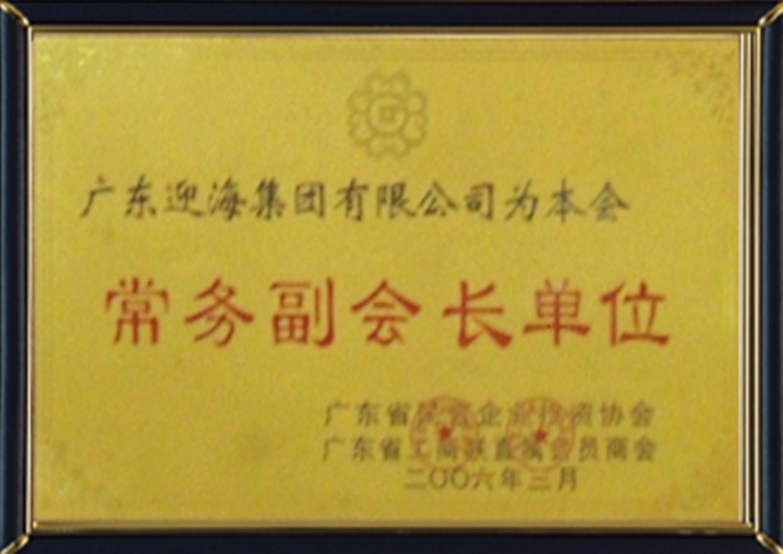5—廣東省民營企業投資協會(常務副會長單位)2006
