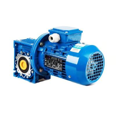 NMRV090-i-1.1KW蝸輪蝸桿減速機帶電機