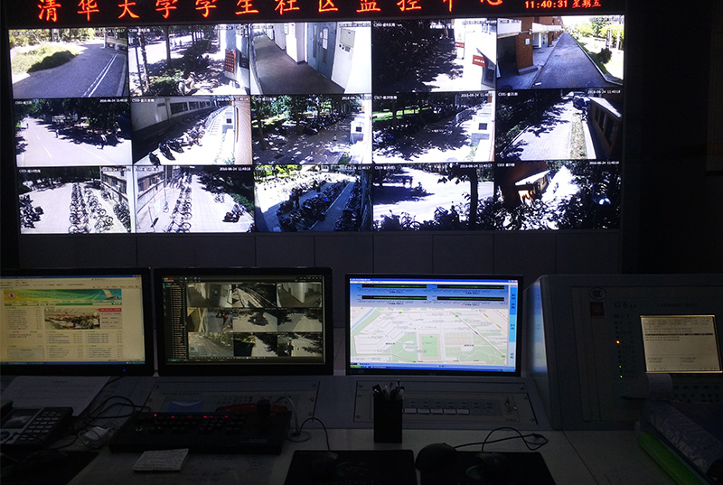 清华大学紫荆园校区消防管道泄漏在线监测