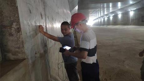 人防工程隧道混凝土厚度检测