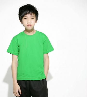 兒童180克精梳棉文化衫