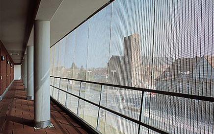 垂帘装饰网案例