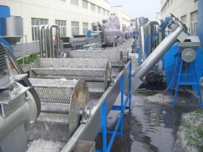 各種混雜塑料清洗回收生產線