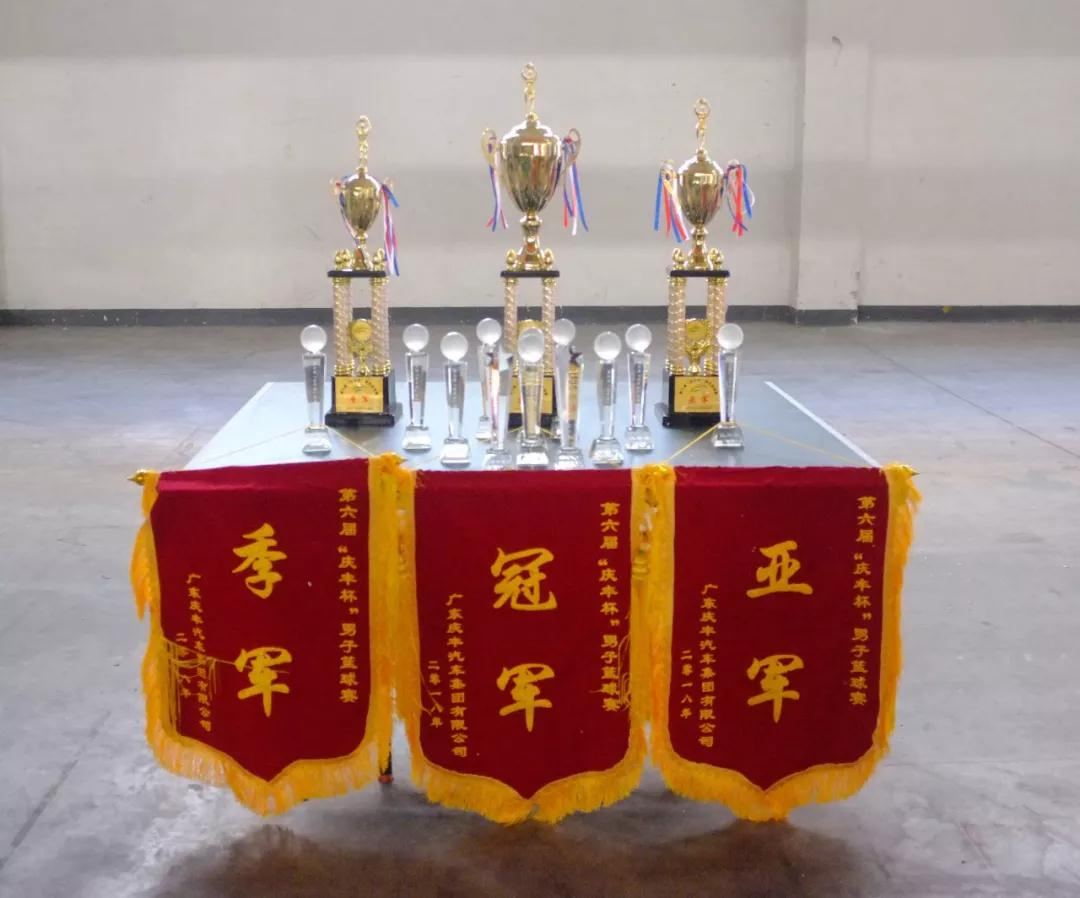 """庆丰集团2018第六届""""庆丰杯""""篮球赛总决赛暨闭幕式圆满结束"""