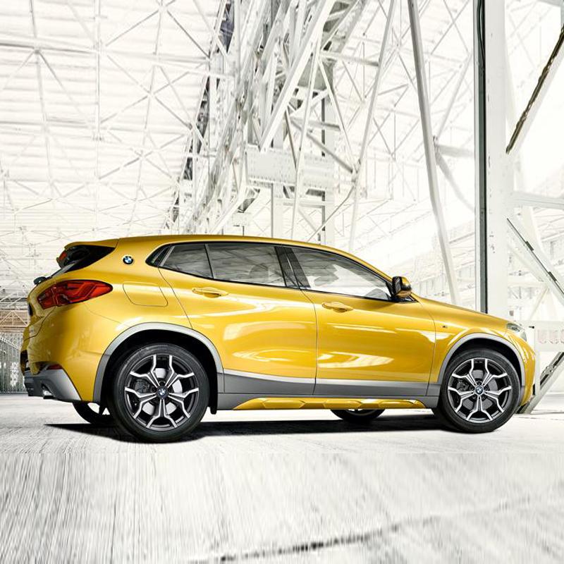 创新BMW X2: 创新BMW X2以独特的SAC设计概念,将越野风格与轿跑气质相融合