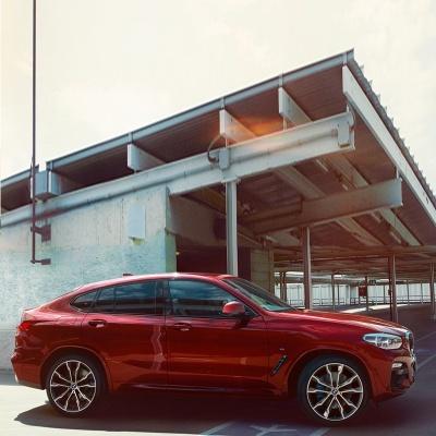 全新BMW X4:自信风采与独特魅力融于一身,当全新BMW X4一出现,便令人为之倾倒