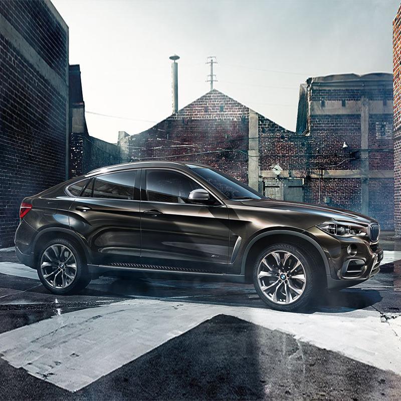 BMW X6:随心掌控一切,BMW X6蓄势待发
