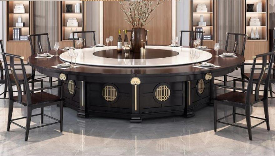 新中式電動桌