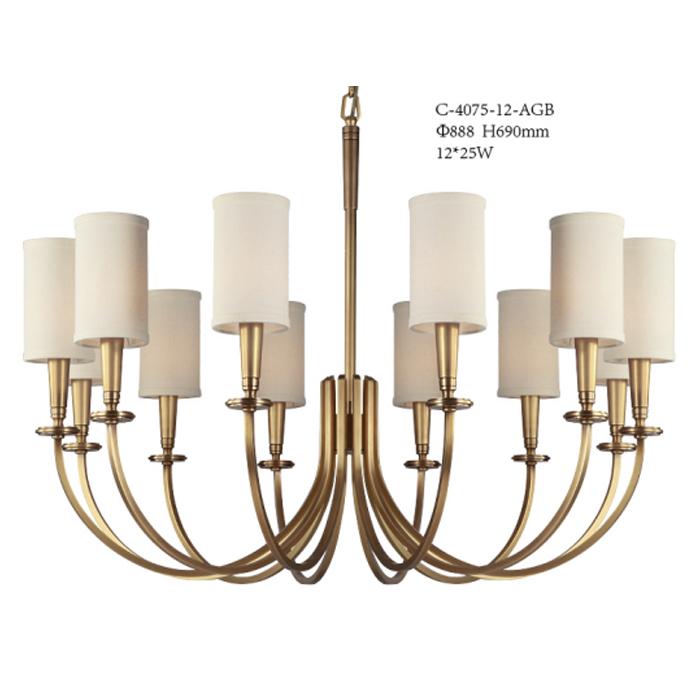 美式客廳12頭燈
