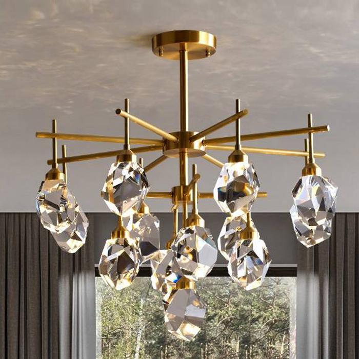 奢簡美式客廳吊燈