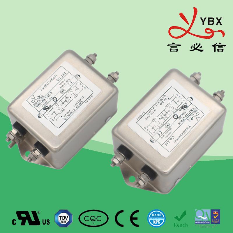 工业超强型emi电源滤波器电流20A