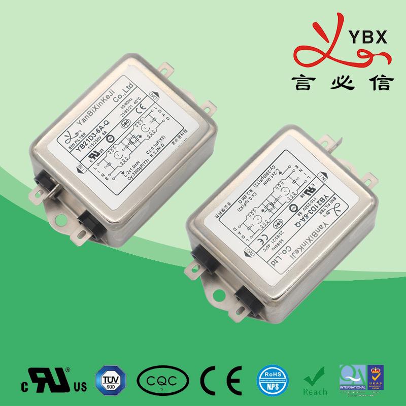 工业加强型电源滤波器21-22-35线路20A