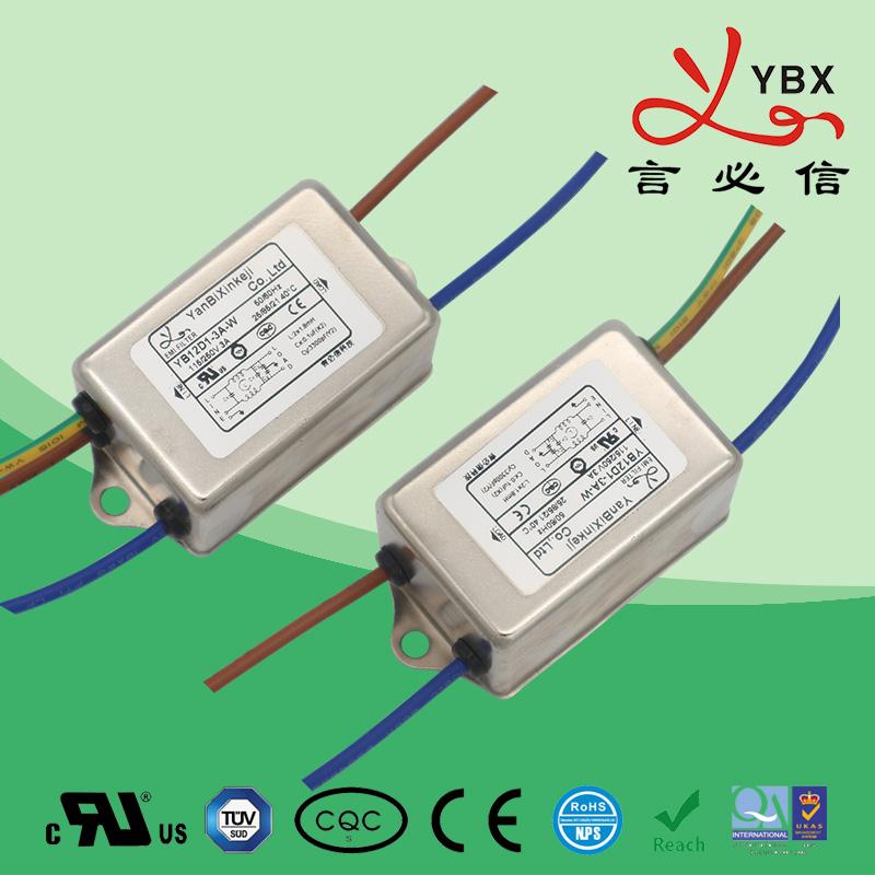 工业加强型电源滤波器21-22-35线路10A