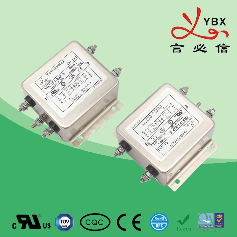 工业加强型电源滤波器21-22-35线路50A
