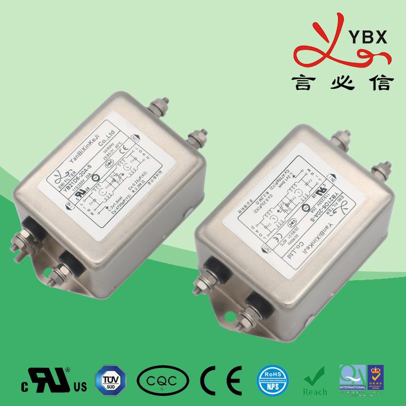 工业加强型emi电源滤波器电流20A