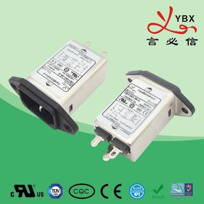 单IEC插座医疗设备滤波器