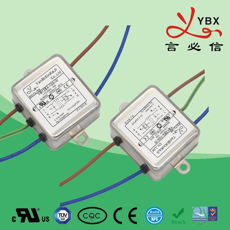 1-10A 内置式医疗设备滤波器
