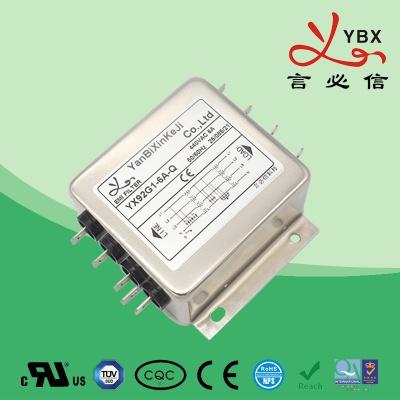 超强型三相电源滤波器YX-92线路