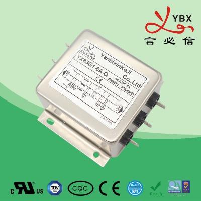 超强型三相电源滤波器YX-83线路