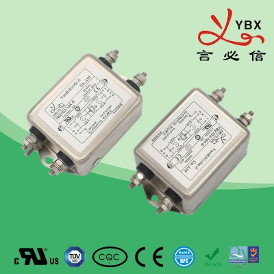 11A-20A加强型双极滤波单相电源滤波器