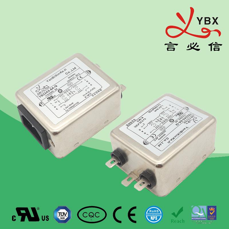 中小型机械设备插座滤波器