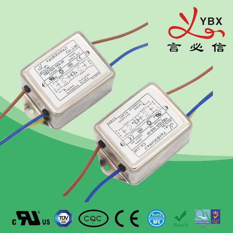 1-30A通用型单相电源滤波器
