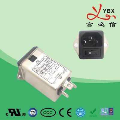 插座+开关 滤波器YB11-B8