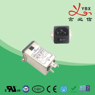 医疗设备用 插座+开关 滤波器