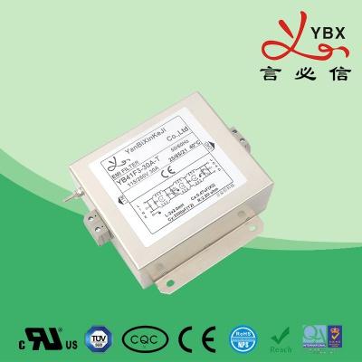 超强型单相电源滤波器41-42线路50A