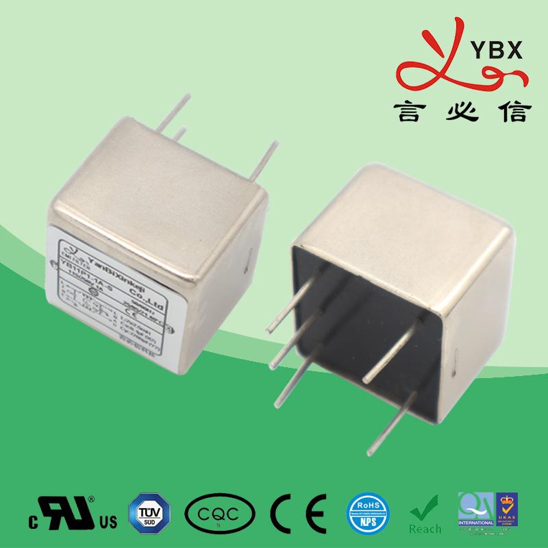 PCB板插针式emi电源滤波器