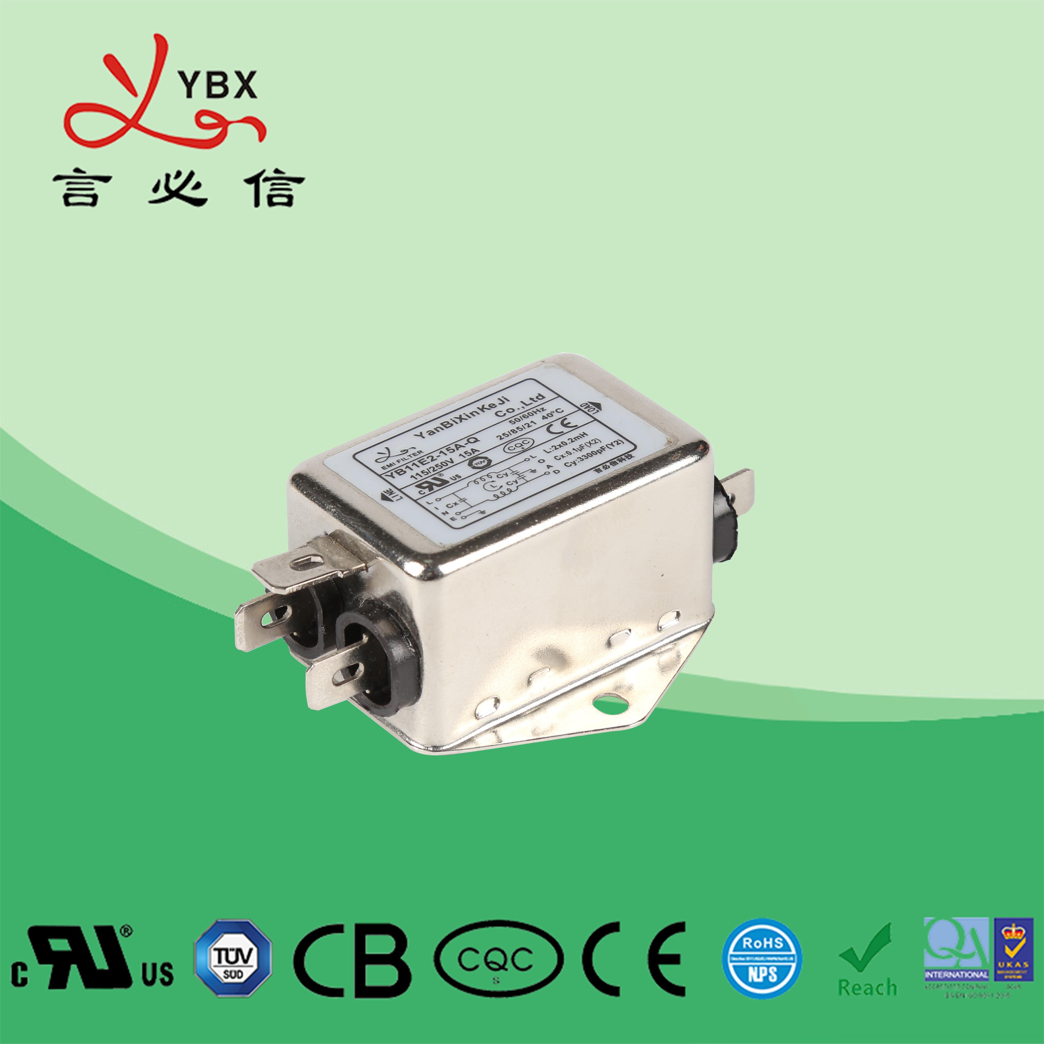 音响音频专用降噪emi电源滤波器