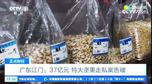 你愛吃堅果嗎?37億元特大堅果走私案!部分堅果黃曲霉素超標